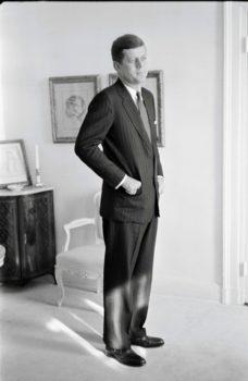 John F Kennedy, 1960 Copyright Tony Vaccaro, Michael A Vaccaro Studio