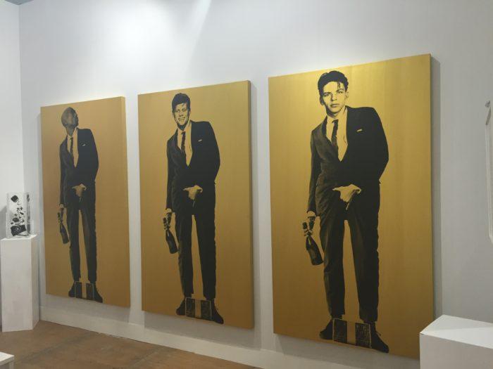 "Knowledge Bennett, ""Cojones"" series (images courtesy Galerie Virginie Barrou Planquart, Paris)"