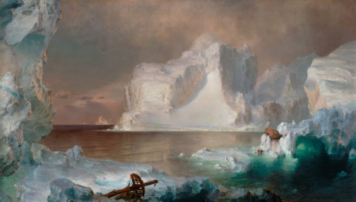 Frederic Church, The Icebergs, 1861