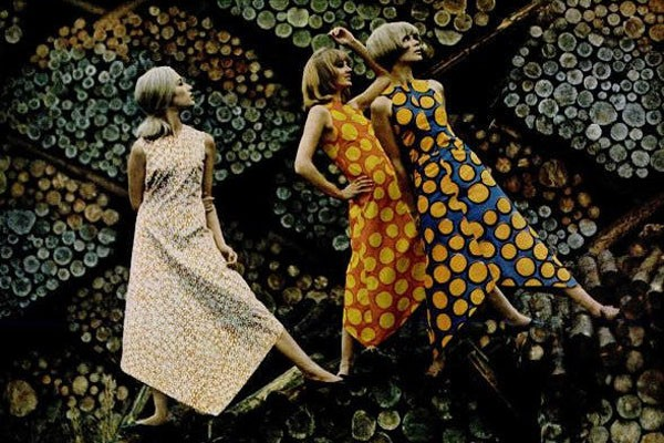 bright spirit of Marimekko, 1966 Copyright Tony Vaccaro, Michael A Vaccaro Studio