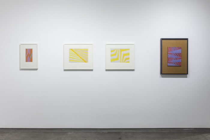 Earlier works by Michael Kidner photo by Peter Butler