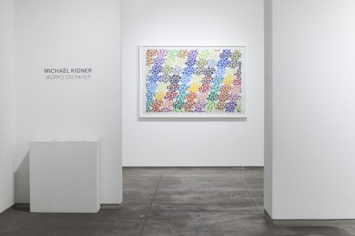 Flowers Gallery presents Michael Kidner photo by Peter Butler
