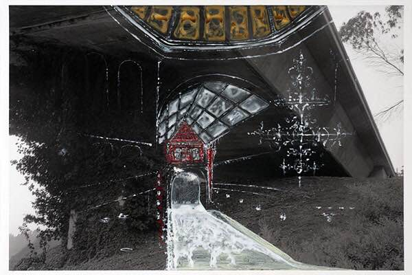 John David O'Brien, Scottopassagio (Underpass) 2, 21 x 31 inches.