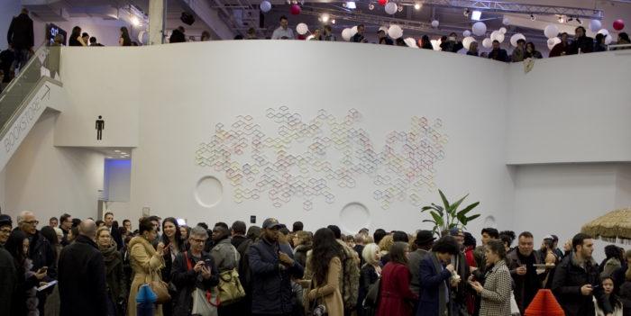 Installation at Art on Paper