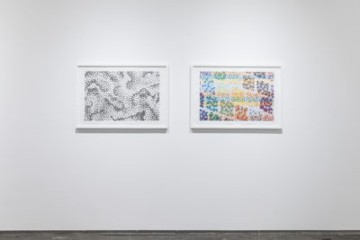 Michael Kidner installation view by Peter Butler