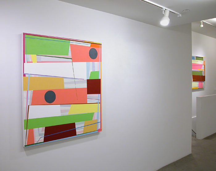 """Back there behind the sun"", Gary Petersen, installation view at Mc Kenzie Fine Art, New York, 2016"