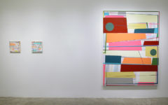 """""""Back there behind the sun"""", Gary Petersen, installation view at Mc Kenzie Fine Art, New York, 2016"""