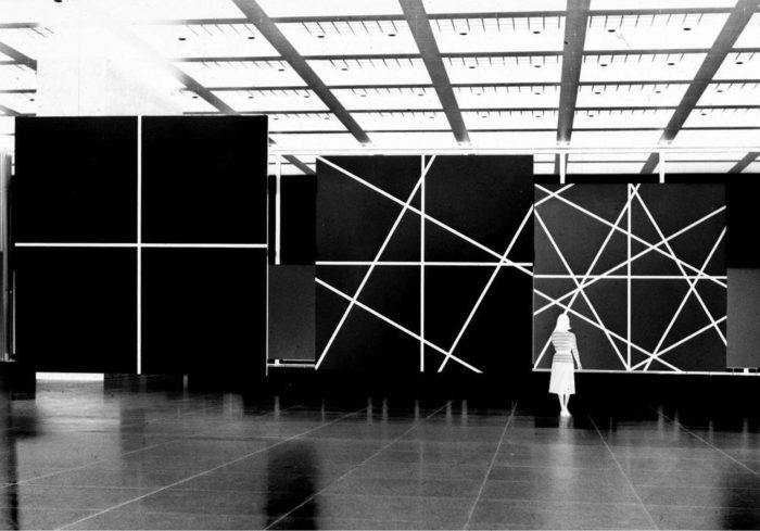 "Exhibition view of ""Images and Light Objects"", 1977. Courtesy: Jordan/Seydoux Drawings & Prints"