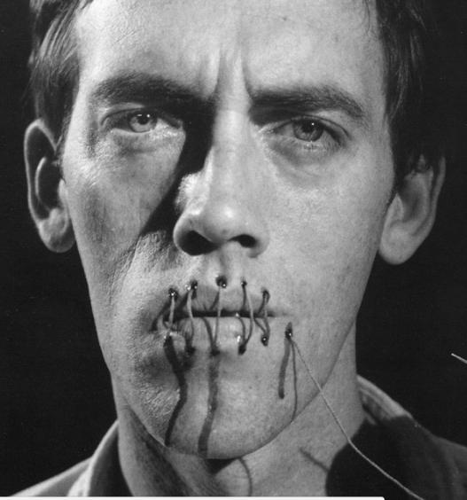 Andreas Sterzing, David Wojnarowicz (Silence=Death); New York (1989/2014)