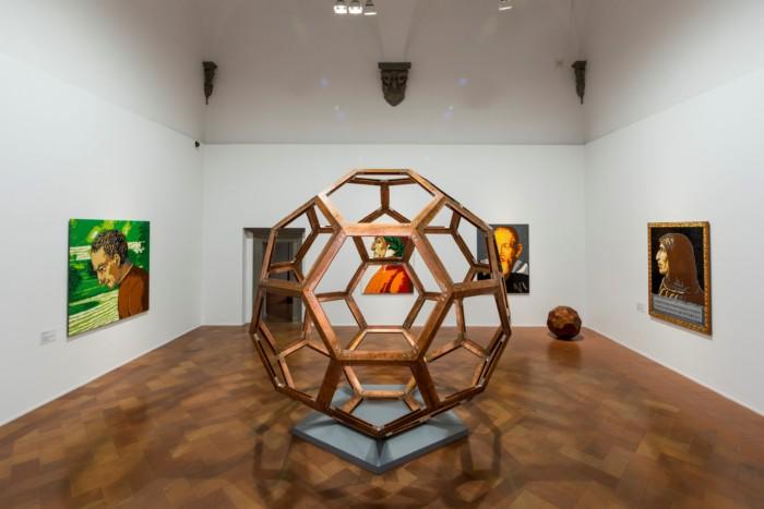 Installation view of Ai Weiwei: Libero curated by Arturo Galansino at Fondazione Palazzo Strozzi