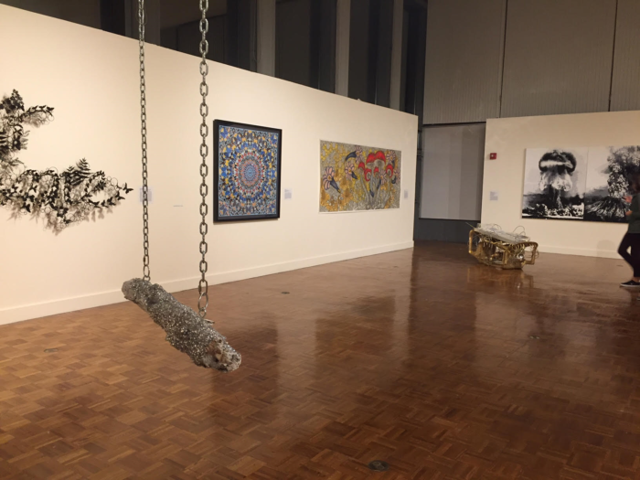 "Installation view for ""Bedazzled"" at Lehman College Art Gallery, New York, 2016"