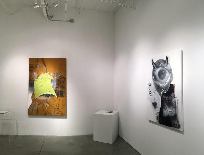 Eric Helvie: Nool, installation view at Lyuben Gallery, NYC, 2016
