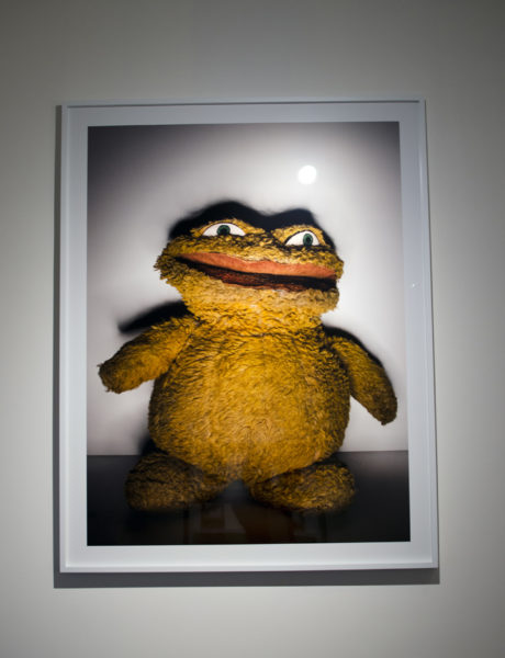 Jim Henson's First Puppet - Mushmellon.JPG, Printed 2016 60 x 50 Inches (Additional Sizes Available) Chromogenic Print