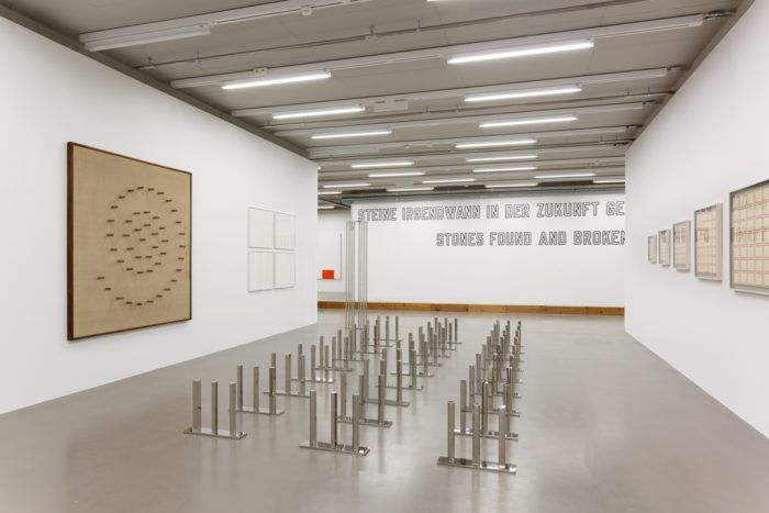Primary structures masterworks of minimal art at museum for Minimal art gallery