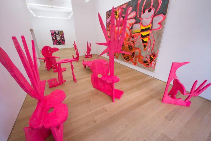 Katherine Bernhardt S Green At Canada Arte Fuse