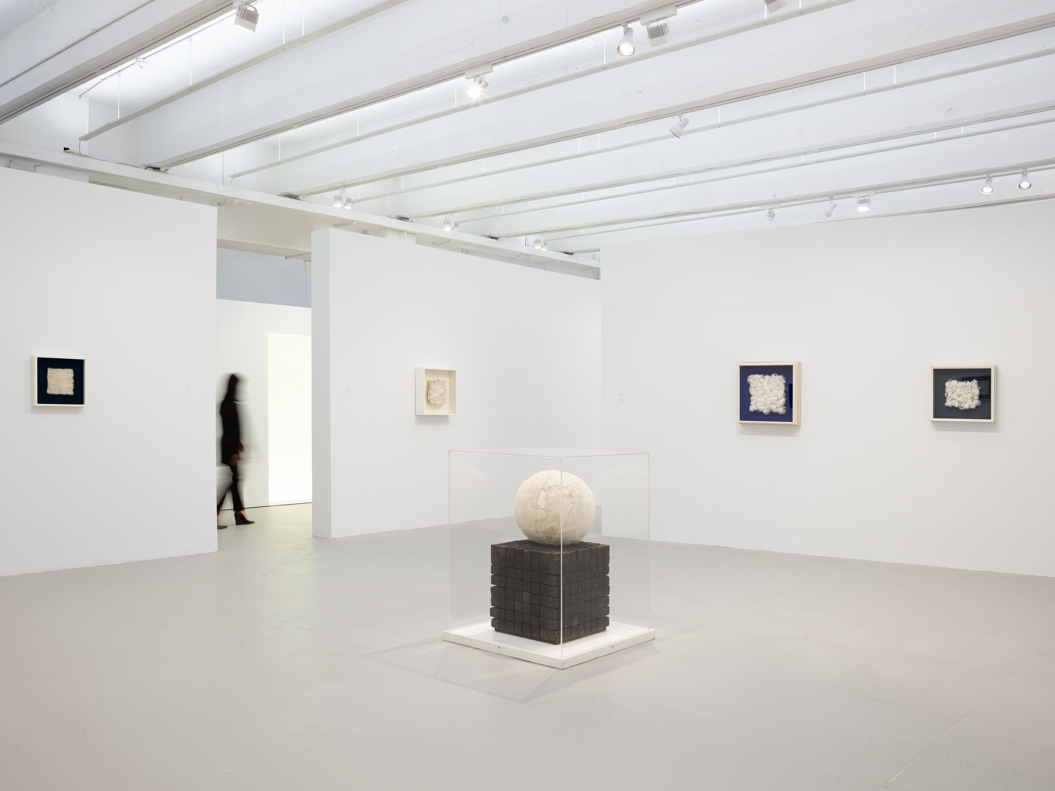 Piero Manzoni: Lines Materials of His Time at Hauser & Wirth